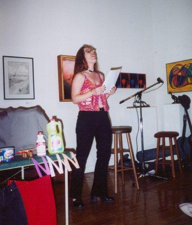 Alicia Griga-Pikul feels her way around Connie's Box